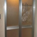 名古屋市 浴室ドアパネル交換