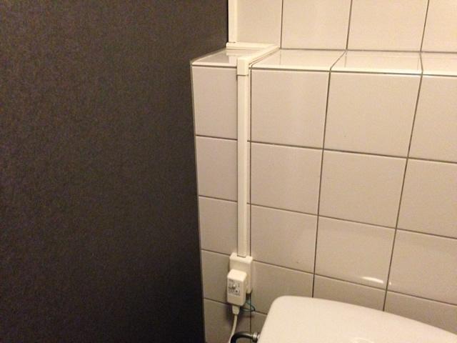 名古屋市中区 男子トイレ電気配線