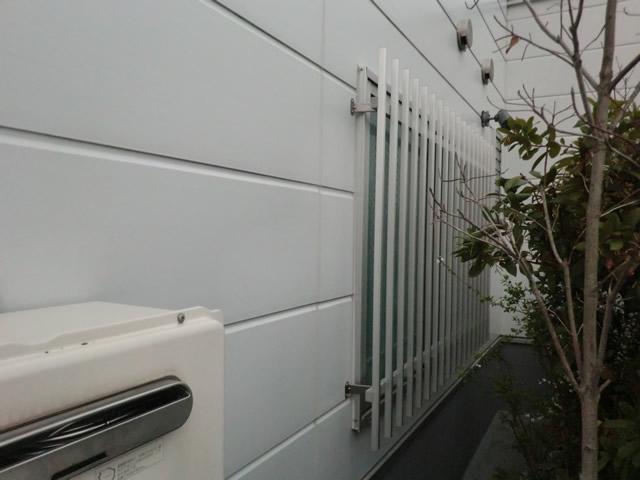 清須市 アルミ面格子